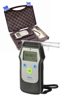 Drager 6510 breathalyser and hard carry case