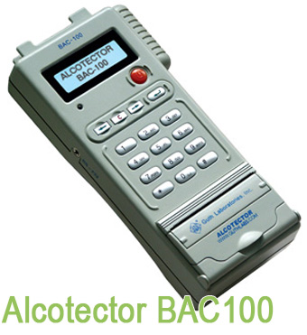 BAC100 Police Issue Breathalyser